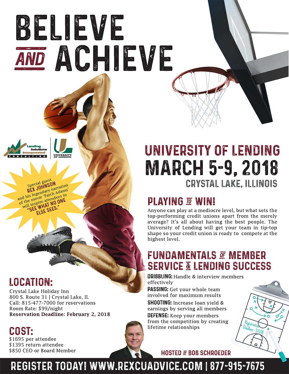 5-Day University of Lending - Crystal Lake, IL - March 5-9, 2018