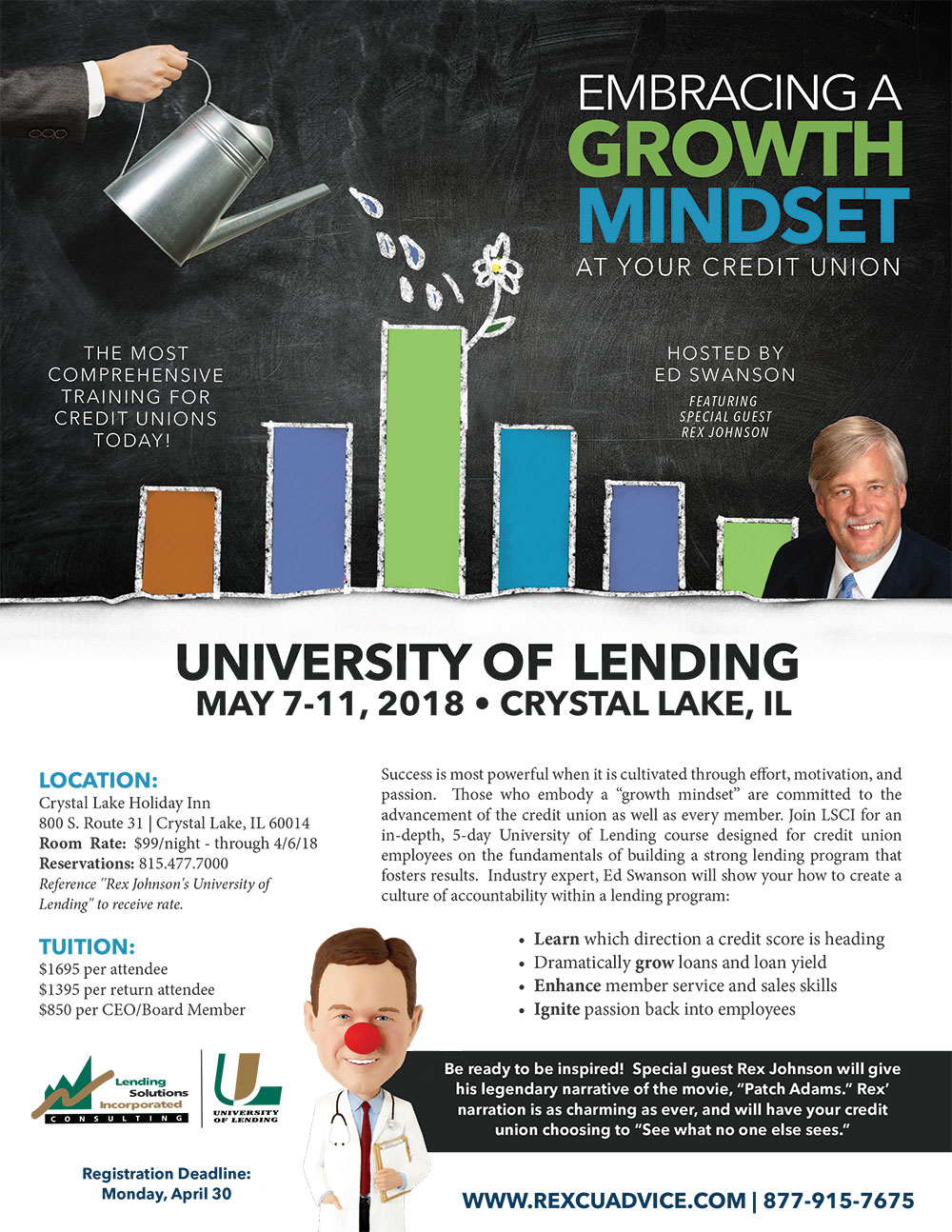 5-Day University of Lending - Crystal Lake, IL - May 7-11, 2018