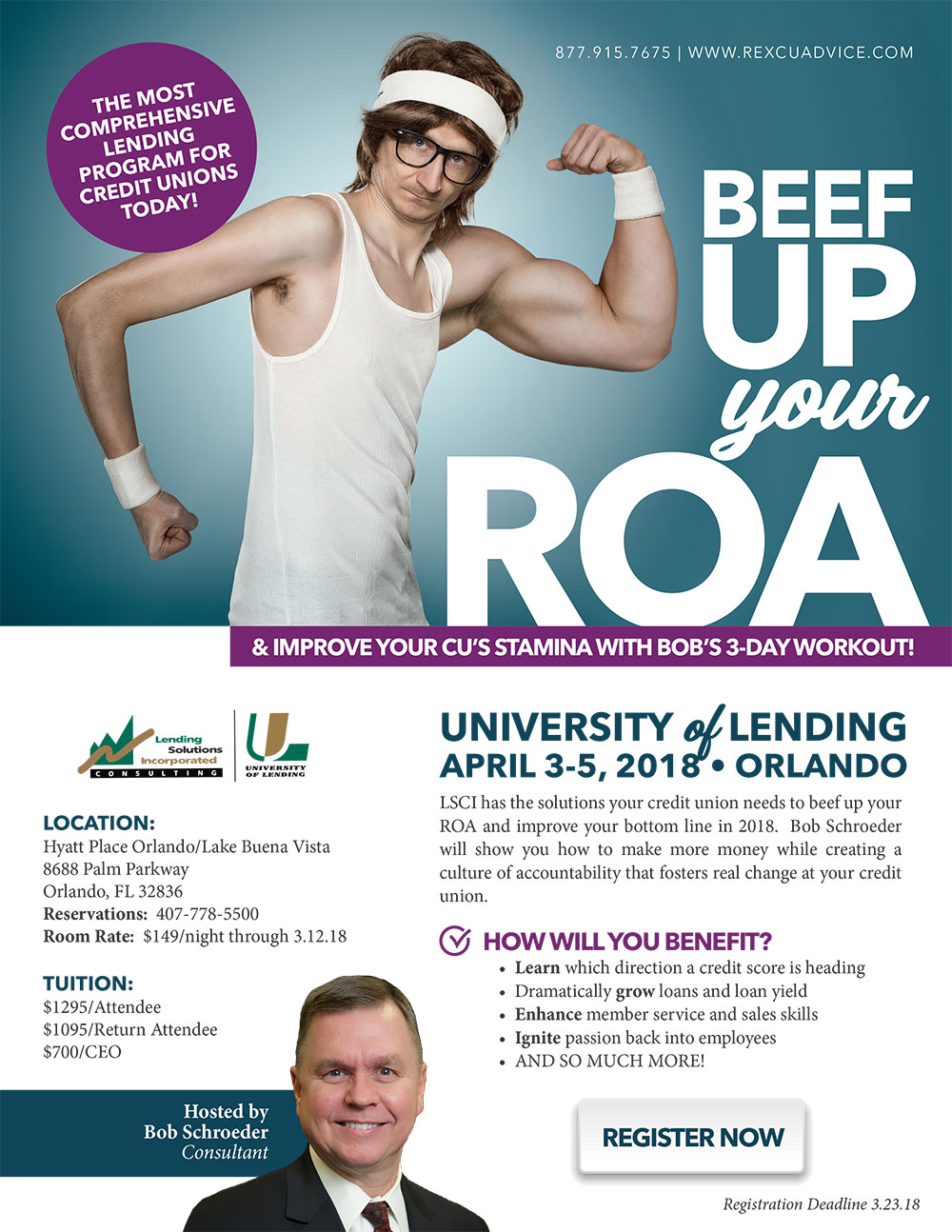 3-Day University of Lending - Orlando, FL - April 3-5, 2018