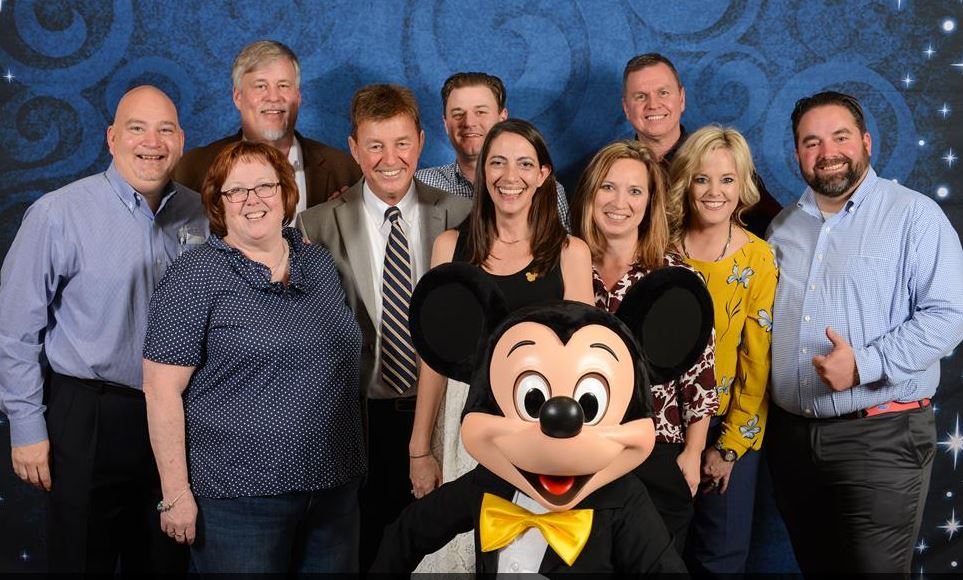 Team LSCI with Mickey