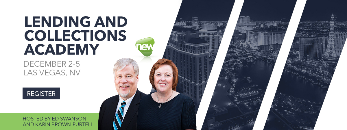 Lending & Collections Academy - Las Vegas, NV - December 2-5, 2019