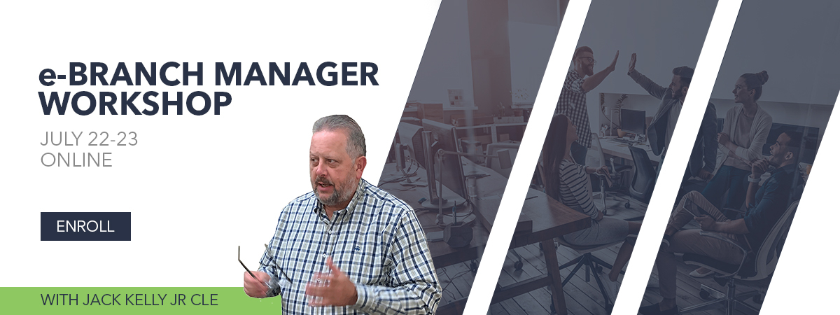 e-Branch Manager Workshop with Jack Kelly July 2020