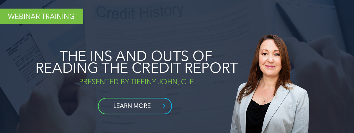 Reading Credit Reports