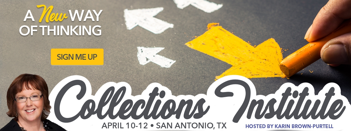Collections Institute - San Antonio, TX - April 10-12, 2018