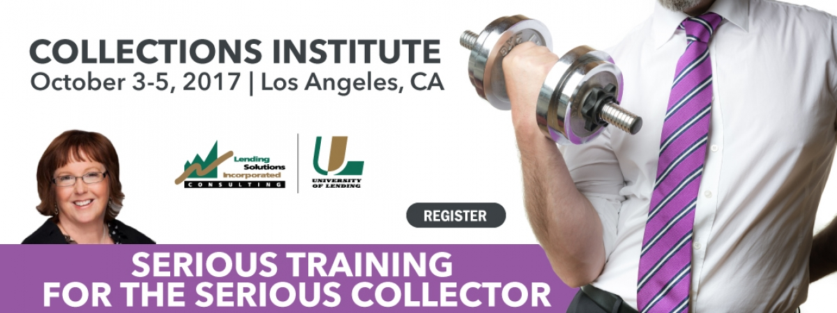 Collections Institute October 3-5 2017 Los Angeles