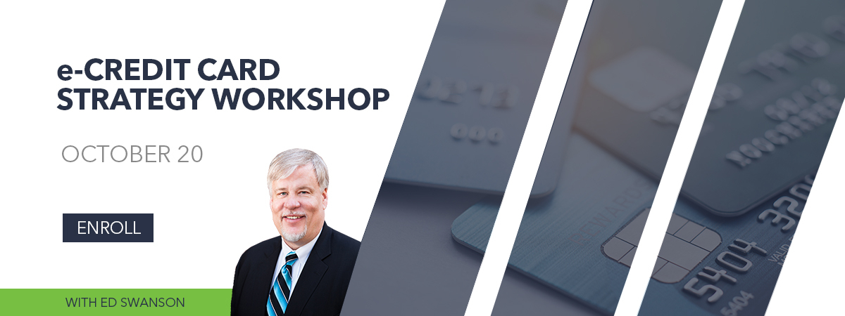 Credit Card Strategy Workshop - Online Course - October 20