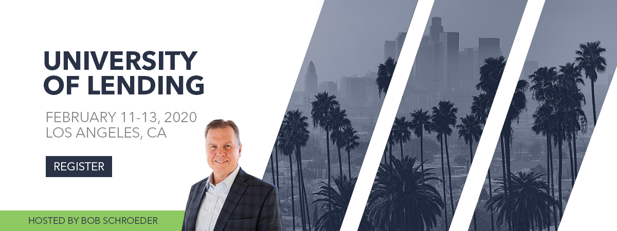 3-Day University of Lending - Los Angeles - February 11-13, 2020
