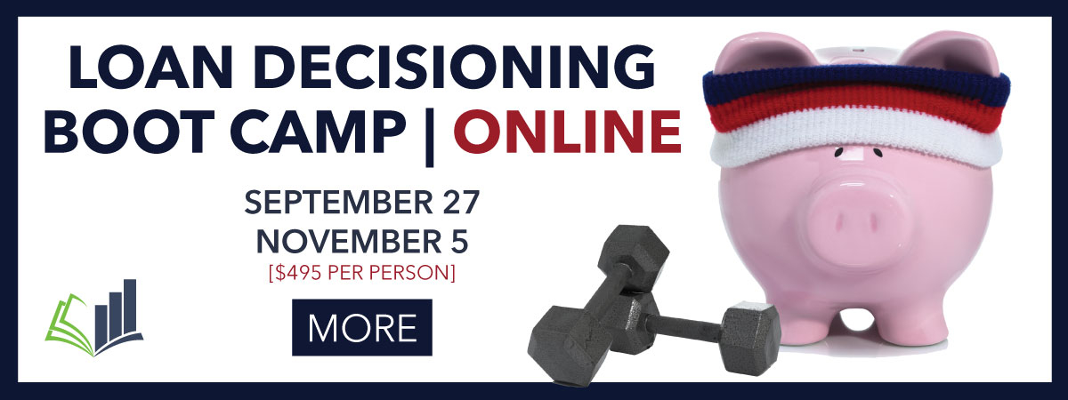 e-Loan Decisioning Boot Camp - September and November 2021
