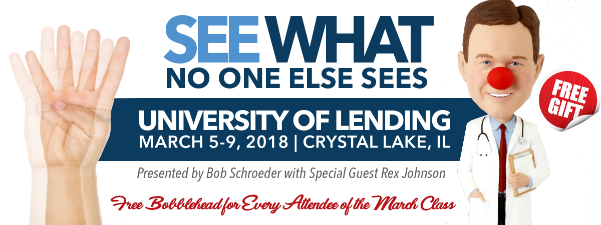 March 5-9 University of Lending Patch