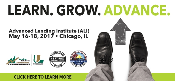 Advanced Lending Institute - Chicago, IL - May 16-18, 2017